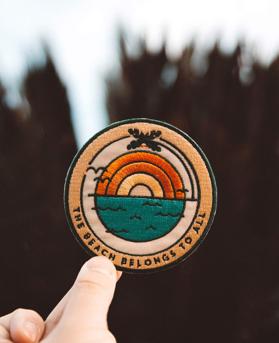Beach Sunrise Sticky Patch - Wondery, A Parks Apparel Brand