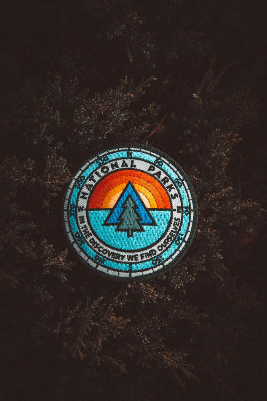 National Parks Sunrise Explorer's Patch - Wondery, A Parks Apparel Brand