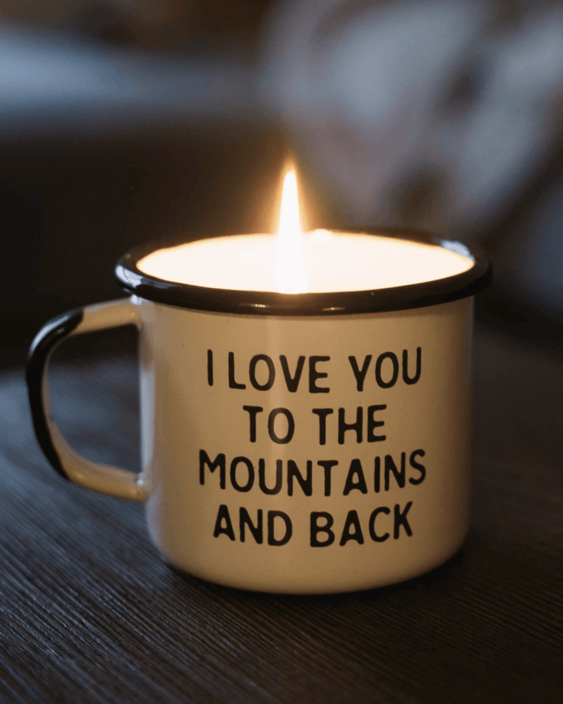 Mountain Lovin' Scented Candle - Wondery