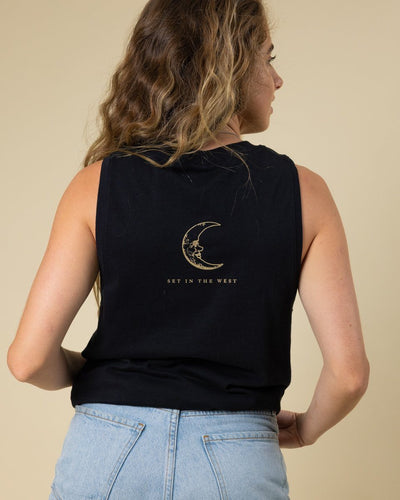The Sun and the Moon Muscle Tank - Wondery, A Parks Apparel Brand