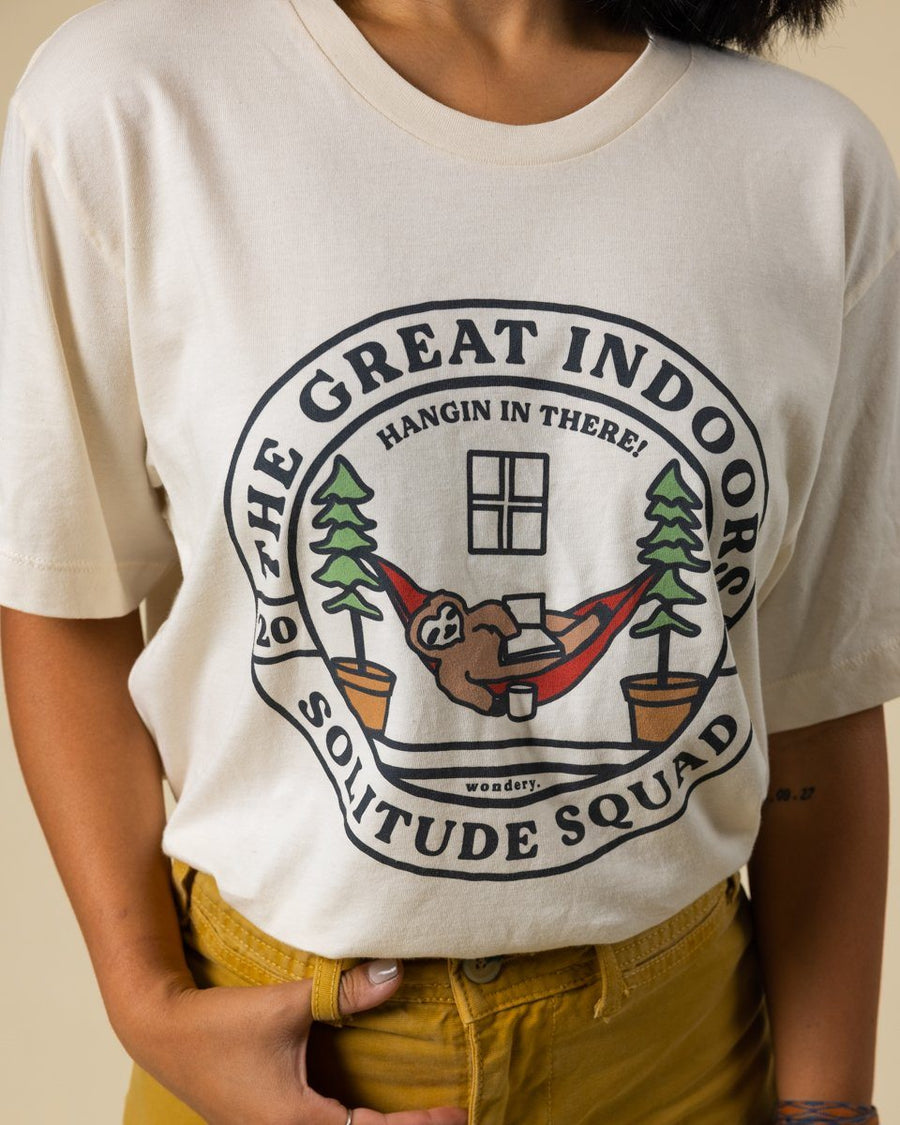 Limited Edition Solitude Squad Tee - Wondery, A Parks Apparel Brand