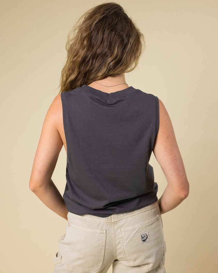 Perfect S'Mores Muscle Tank - Wondery, A Parks Apparel Brand