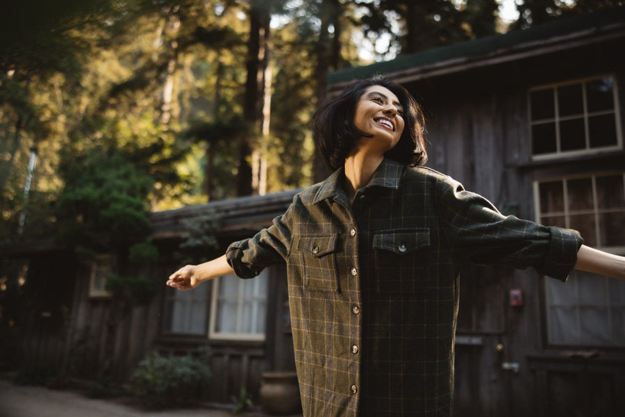 The Golden Soul Flannel - Wondery, A Parks Apparel Brand