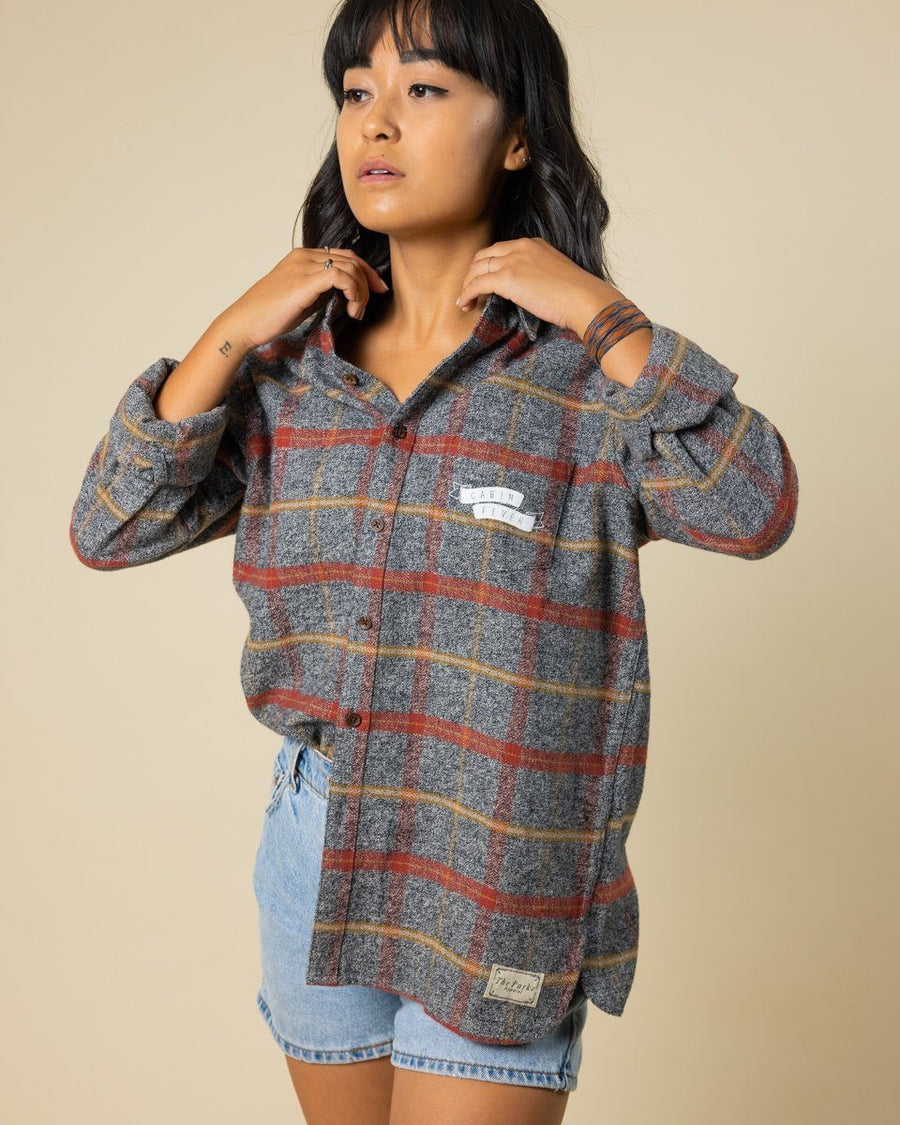 Cabin Fever Flannel - Wondery, A Parks Apparel Brand