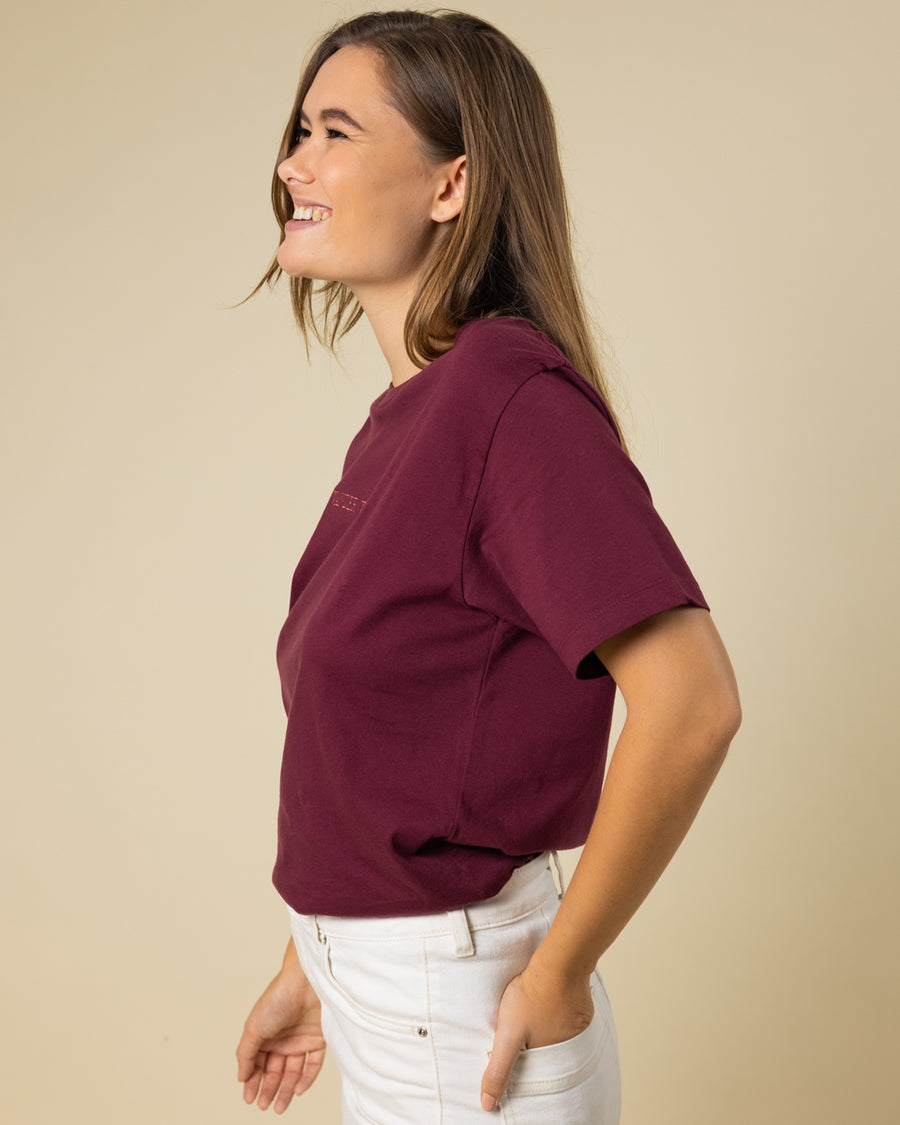 Wander Woman Embroidered Tee - Wondery, A Parks Apparel Brand