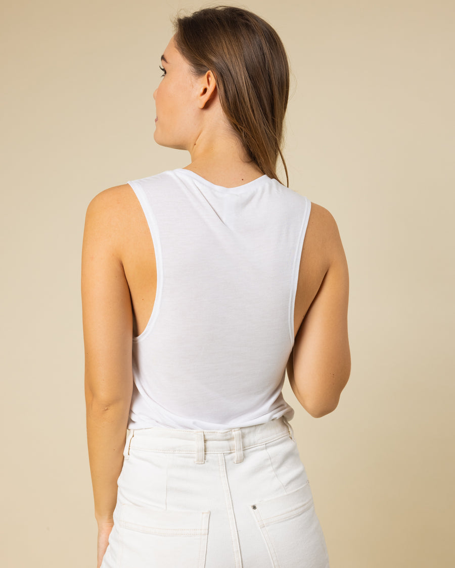 WILD Muscle Tank | White - Wondery