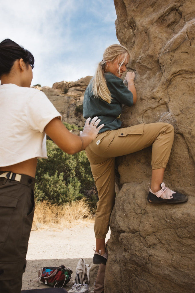 Isabel Hiker Pants | Tan - Wondery