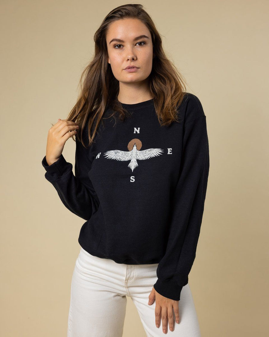 Eagle Compass Crewneck - Wondery