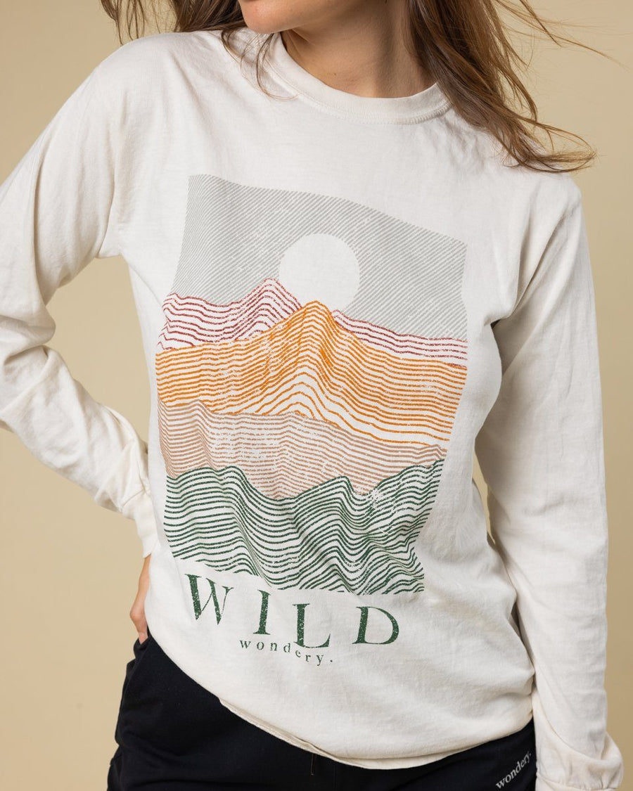 Mountain Tones Long Sleeve - Wondery