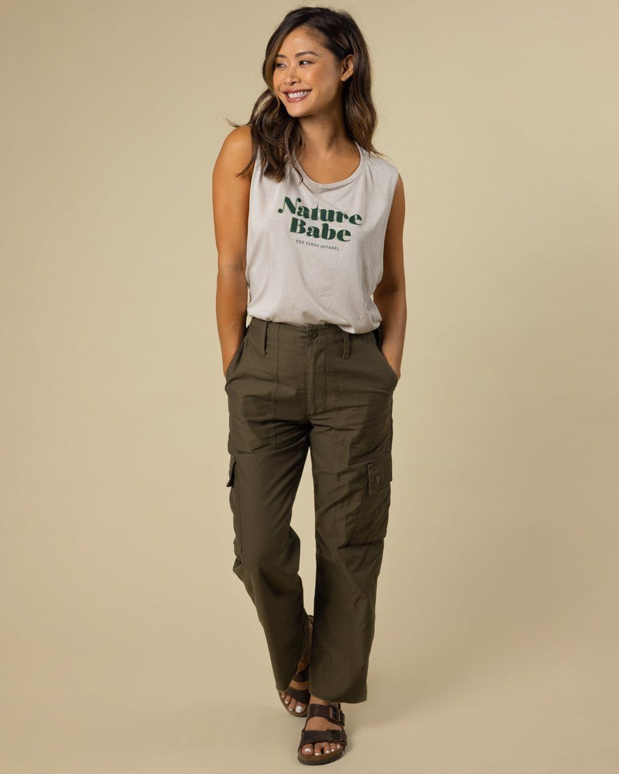 Vintage Nature Babe Tank - Wondery, A Parks Apparel Brand