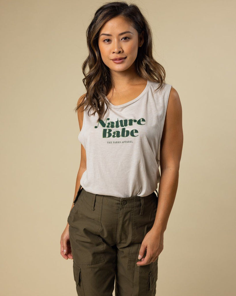 Vintage Nature Babe Tank - Wondery