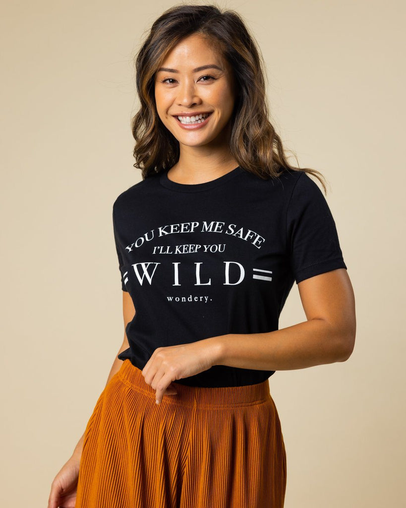 You Keep Me Safe Tee - Wondery