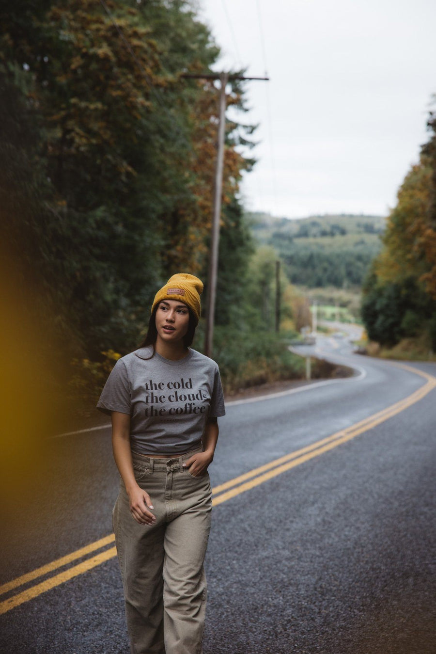 The Cold, The Clouds, The Coffee Tee - Wondery, A Parks Apparel Brand