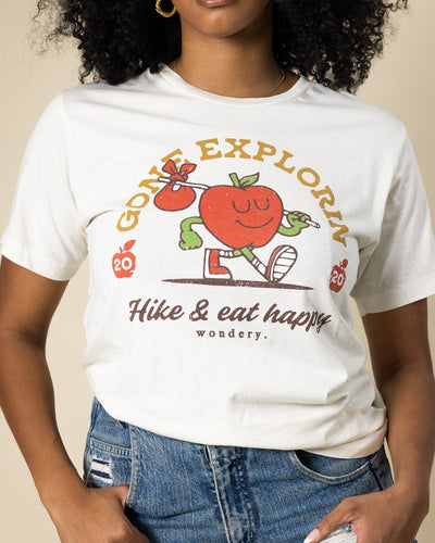 Gone Explorin' Tee - Wondery, A Parks Apparel Brand
