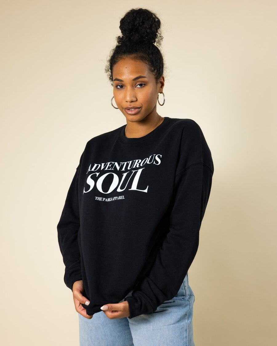 Adventurous Soul Crewneck - Wondery, A Parks Apparel Brand