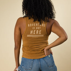 Adventure is Out Here Tank | Honey