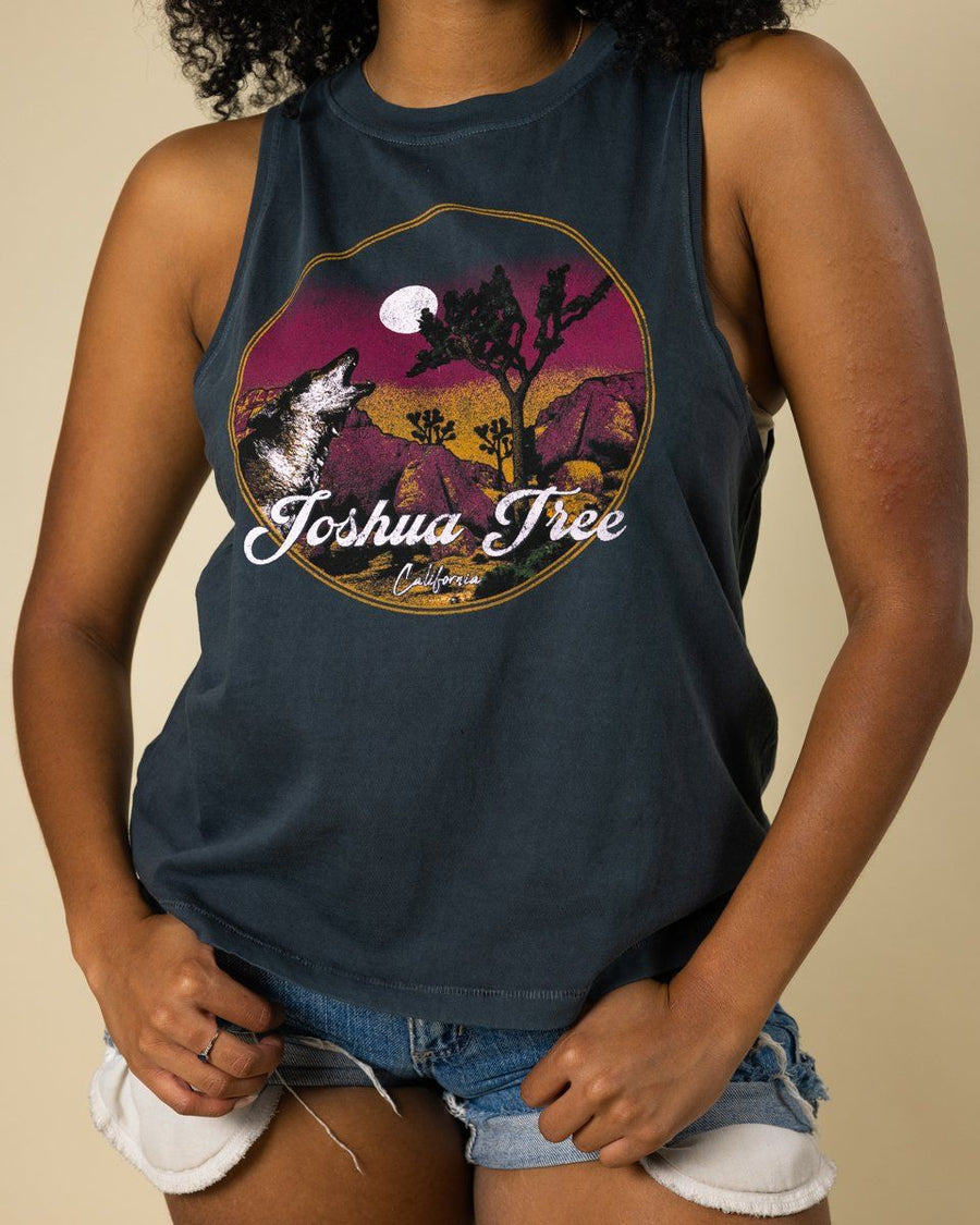 JTree Howl At The Moon Muscle Tank - Wondery, A Parks Apparel Brand