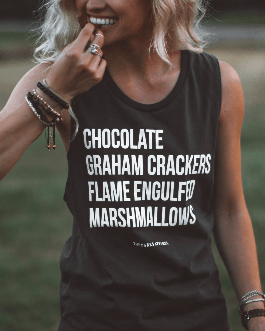 Perfect S'Mores Muscle Tank