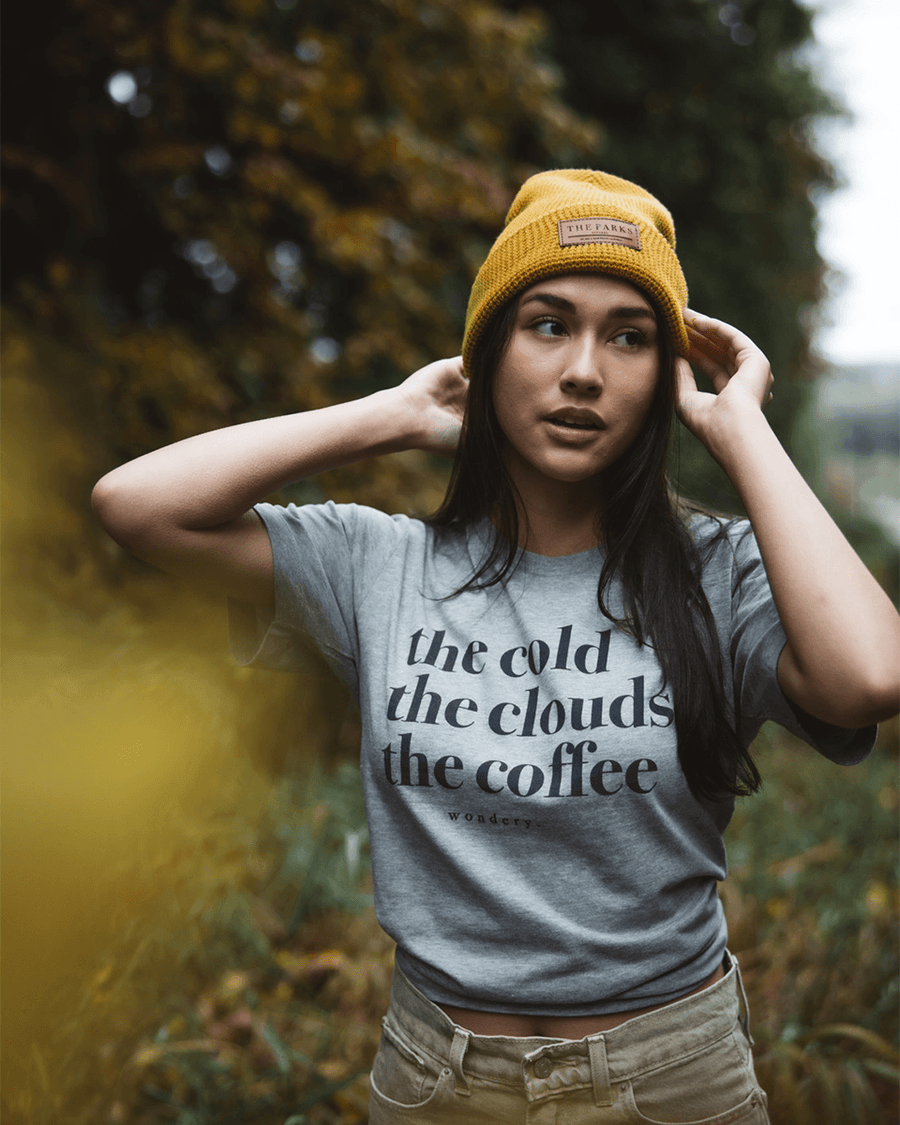 The Cold, The Clouds, The Coffee Tee