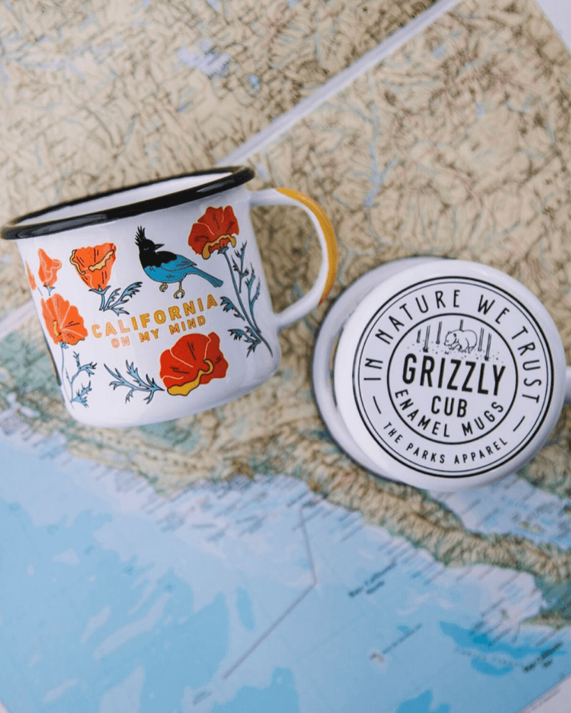 California On My Mind Mug - Wondery