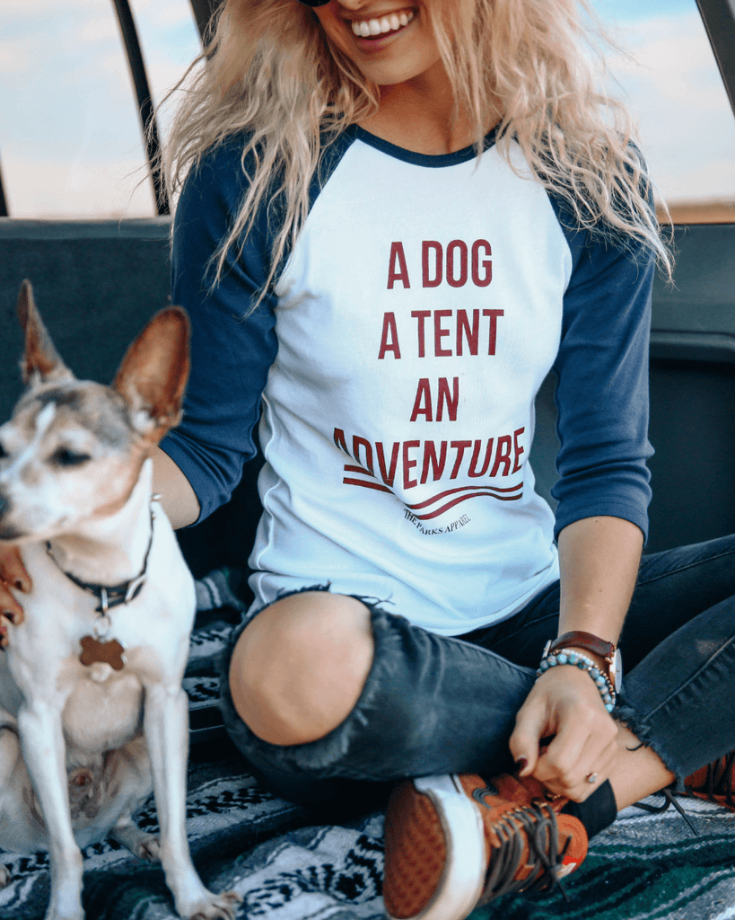 Dog Adventure Raglan - Wondery