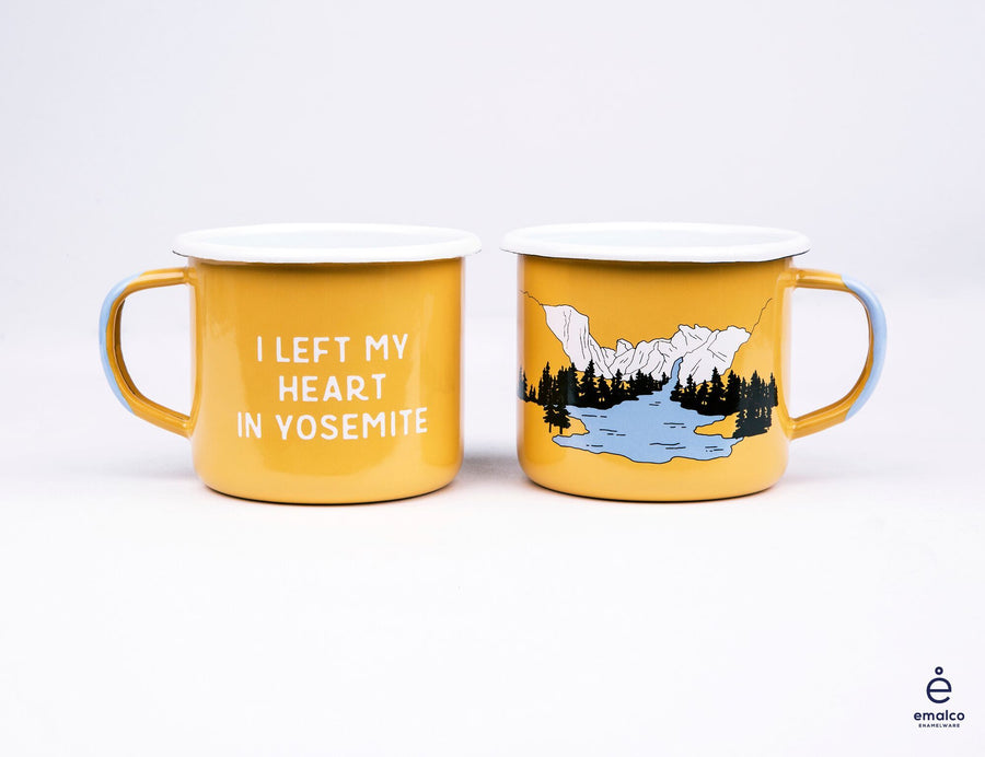 Yosemite Camp Enamel Mug - Wondery, A Parks Apparel Brand