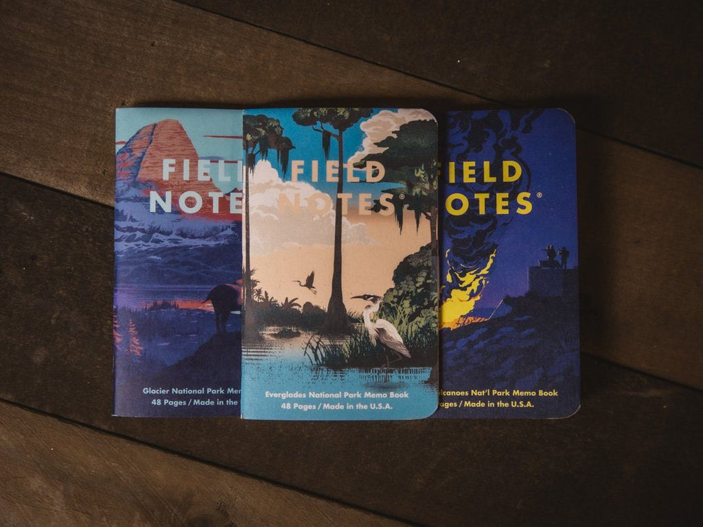 National Parks Field Notes | 3-Pack - Wondery