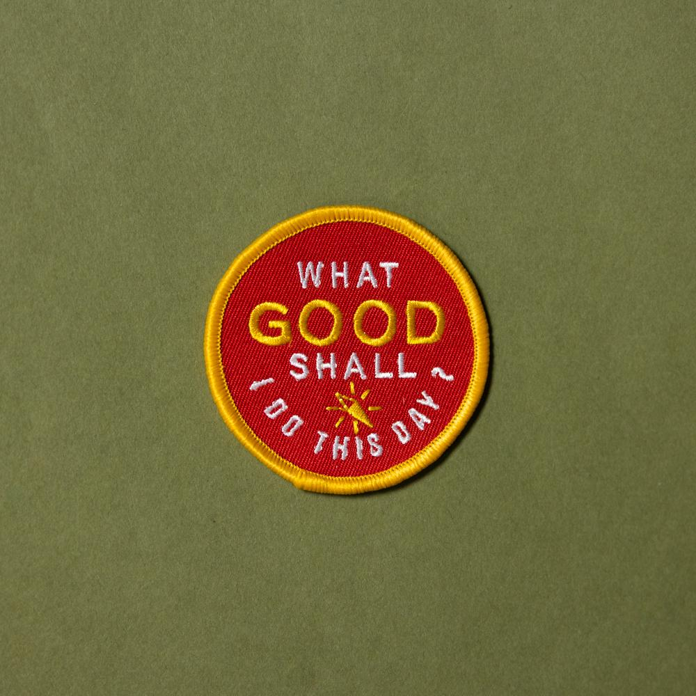 Do Good Patch - Wondery