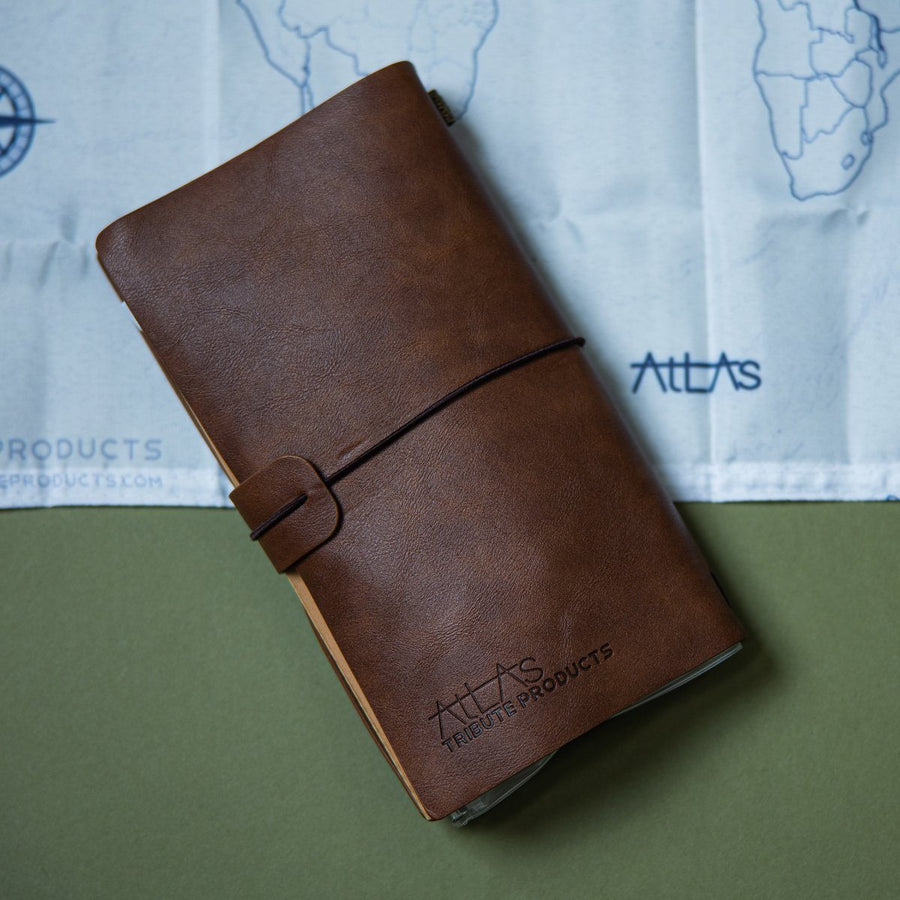 Leather Bound Explorer Journal - Wondery