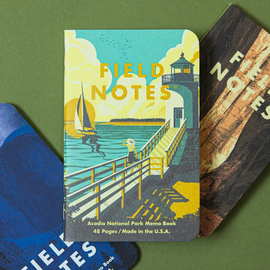 Field Notes Memo Book 3-Pack - National Parks - Wondery, A Parks Apparel Brand