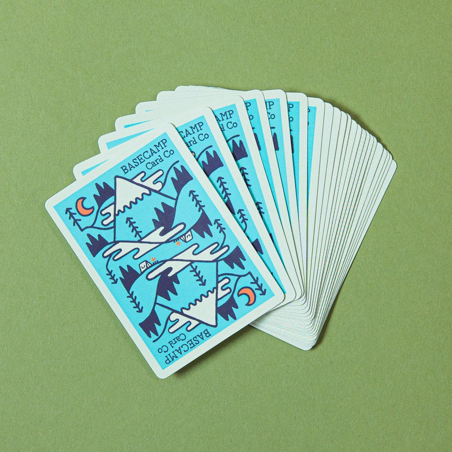 Basecamp Playing Cards - Wondery, A Parks Apparel Brand