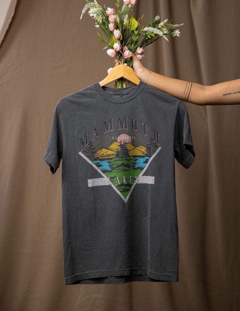 Mammoth Lakes Girlfriend Tee - Wondery