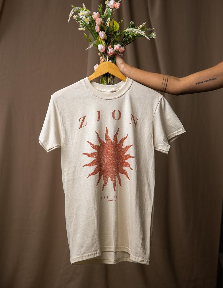 Zion Girlfriend Tee - Wondery