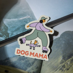 Dog Mama Sticker