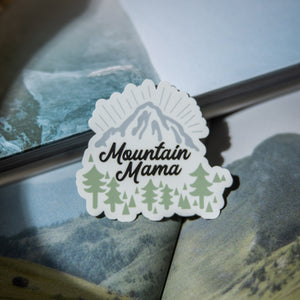 Mountain Mama Sticker