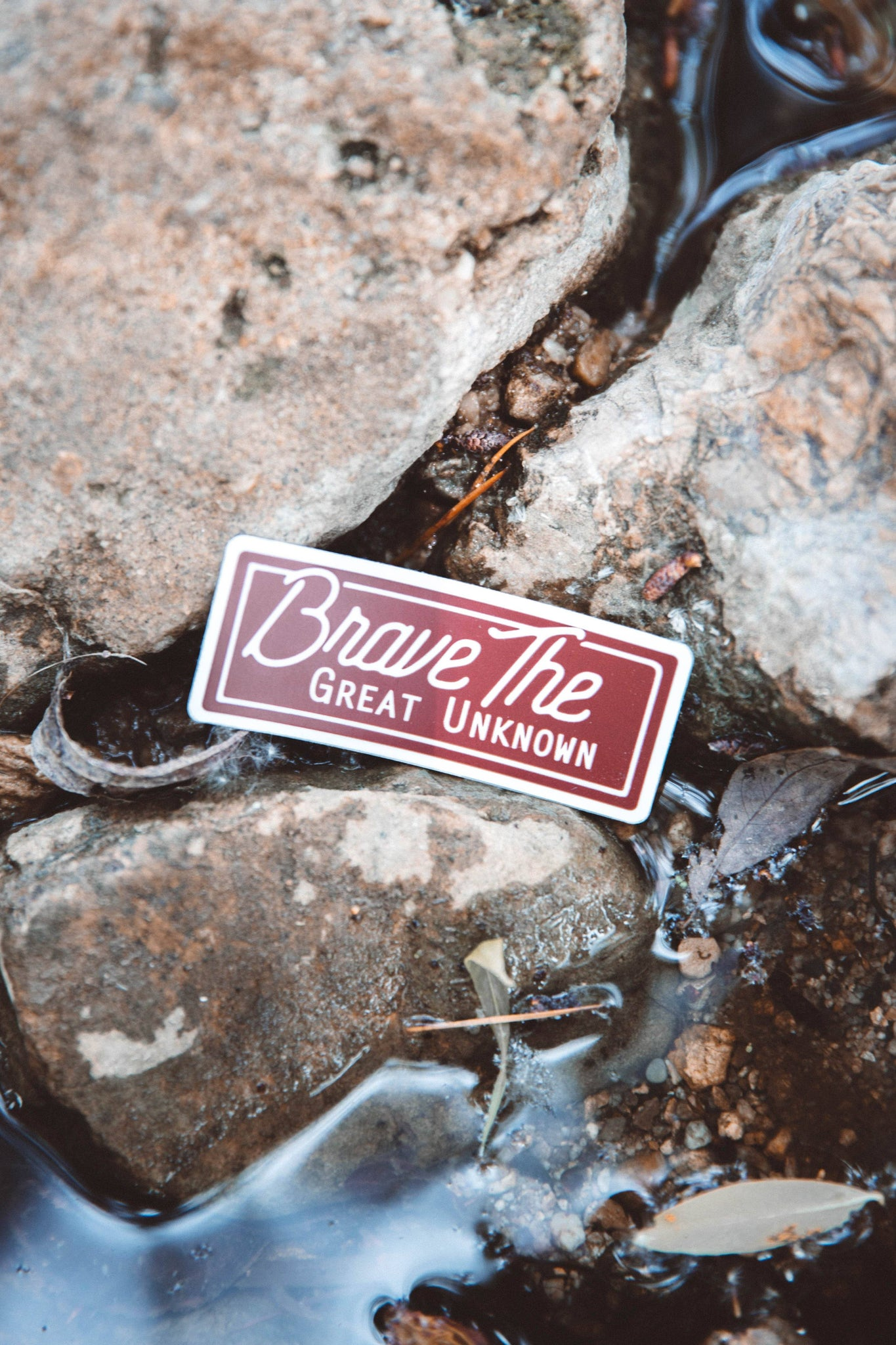 Brave The Great Unknown Sticker - The Parks Apparel