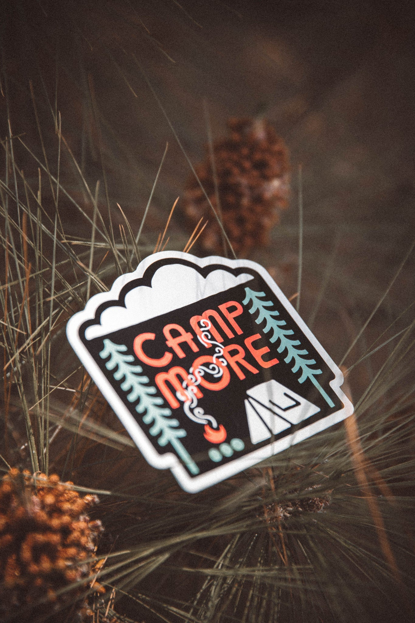Camp More Sticker - The Parks Apparel