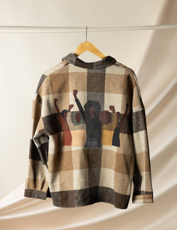 Limited Edition Power to the People Flannel 1