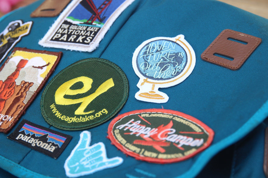 Adventure is Out There Patch - Wondery, A Parks Apparel Brand