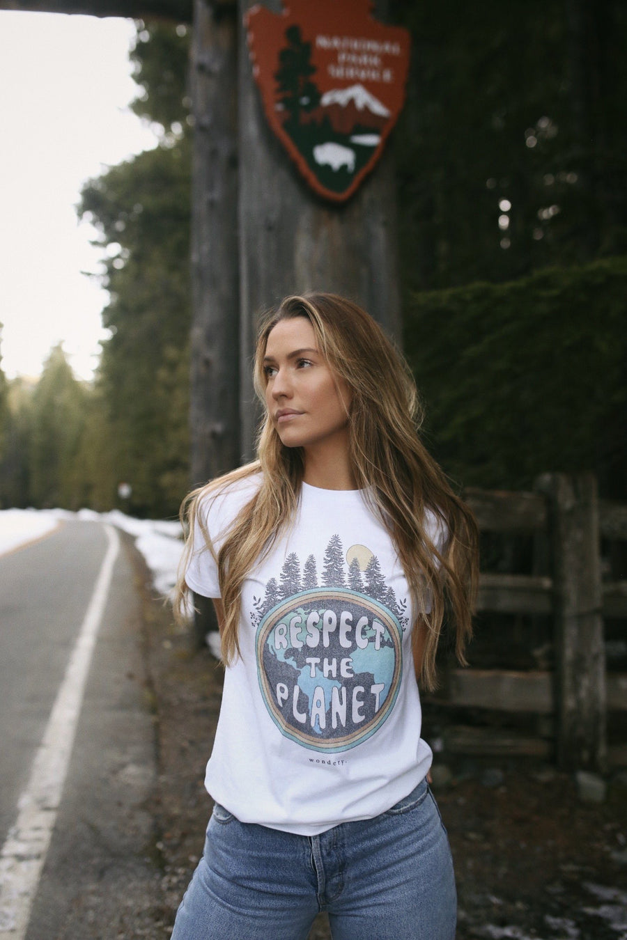 Respect The Planet Tee - Wondery, A Parks Apparel Brand