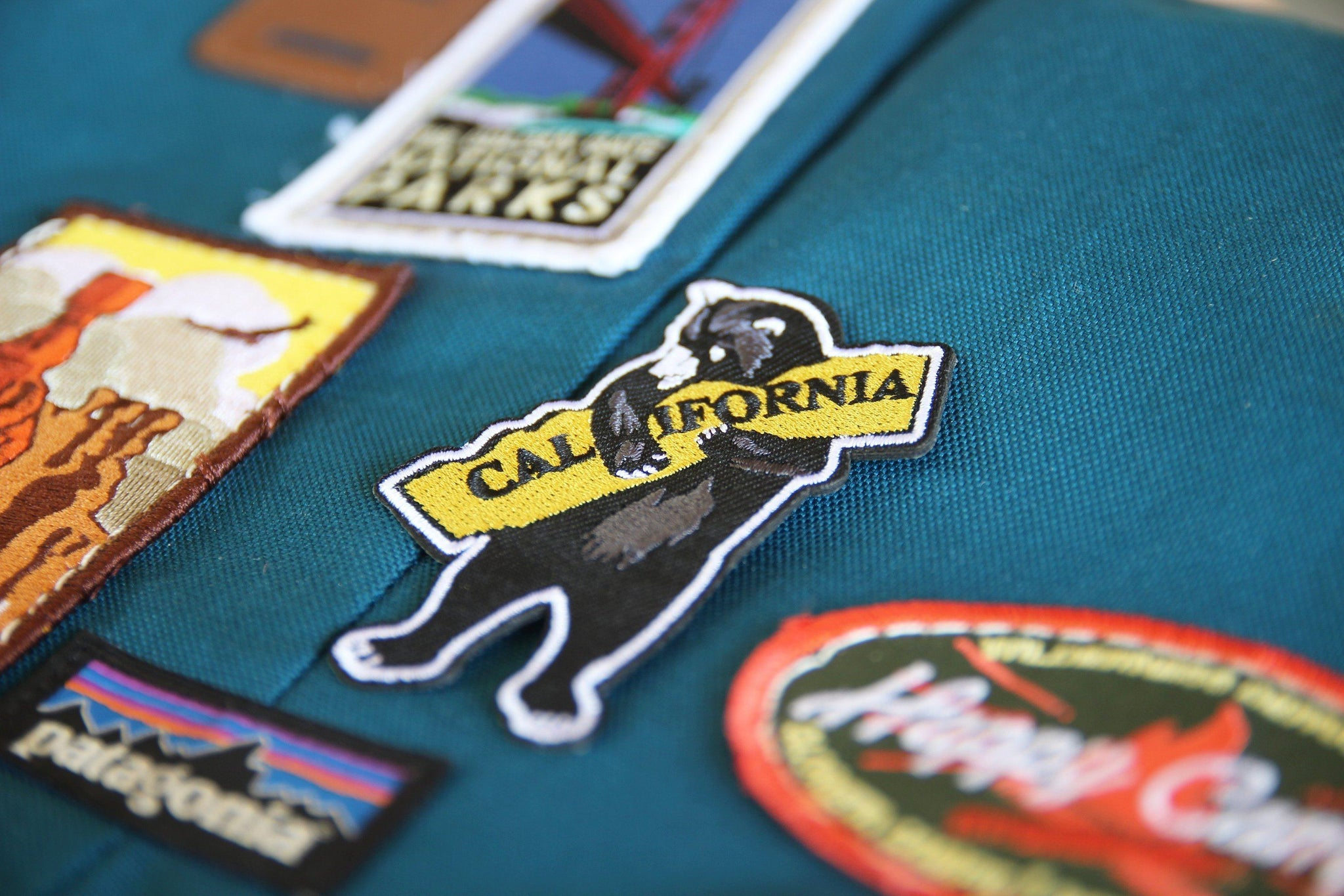 I Love California Patch - The Parks Apparel