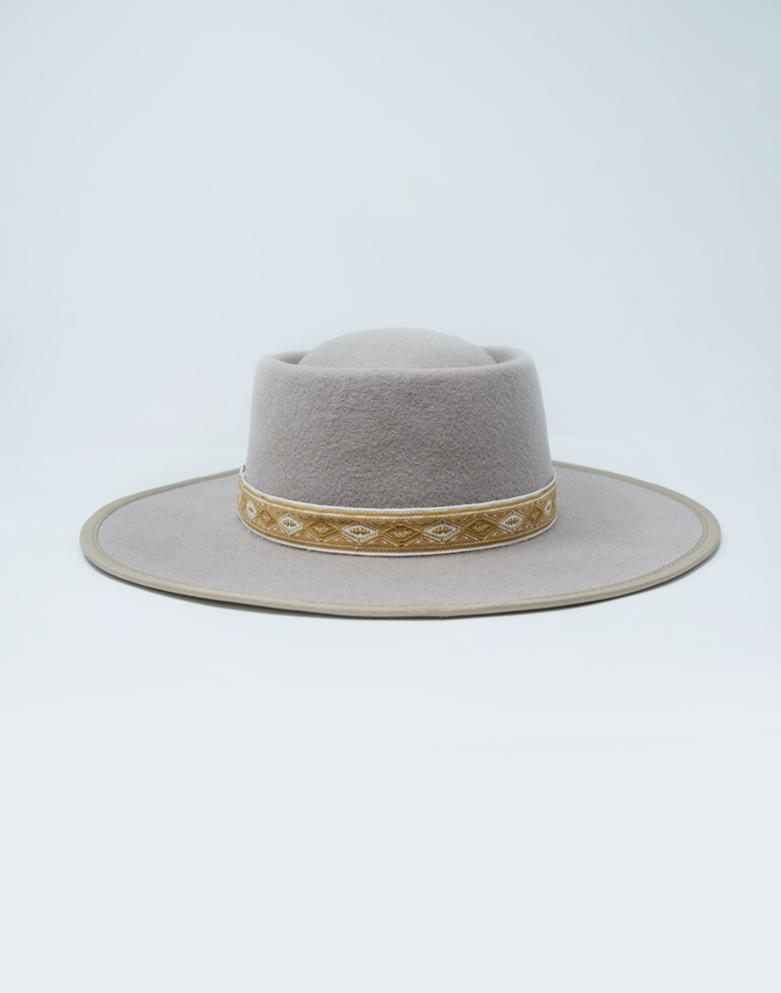 The Connie Wide Brim Hat - Acorn - Wondery, A Parks Apparel Brand