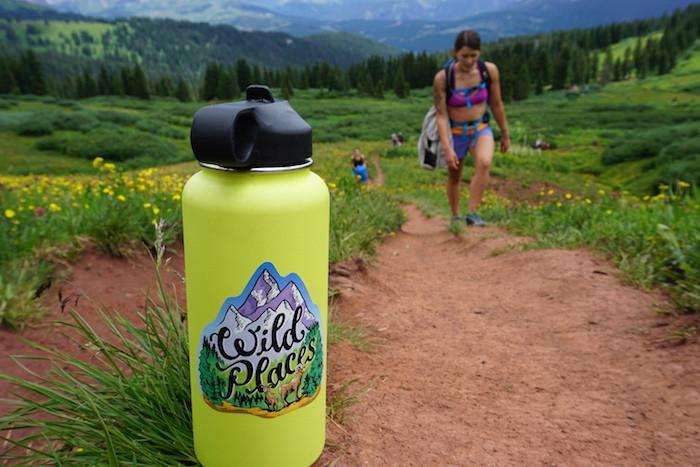 Wild Places Sticker - The Parks Apparel