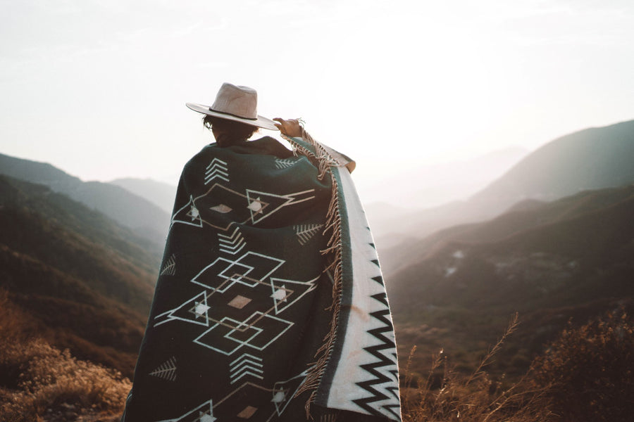 The Parks Emerald Bonfire Blanket - Wondery, A Parks Apparel Brand