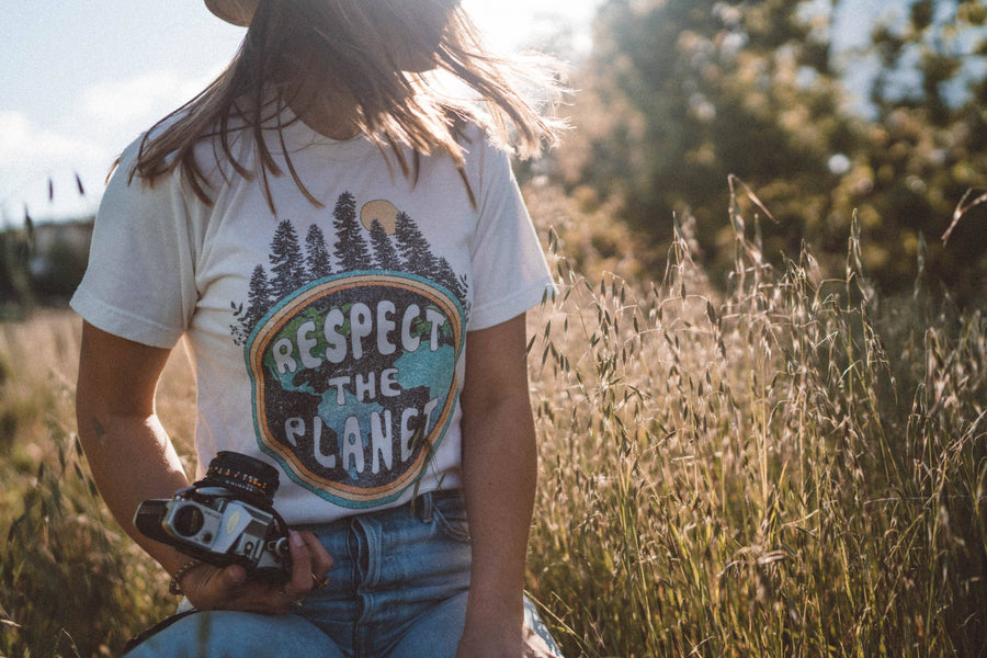 Respect The Planet Tee - Wondery