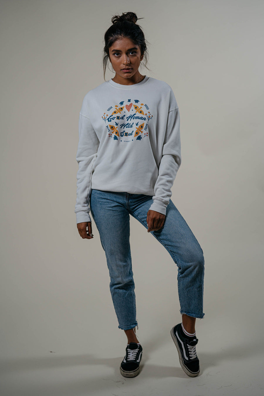 Good Woman Wild Soul Crewneck - Wondery, A Parks Apparel Brand