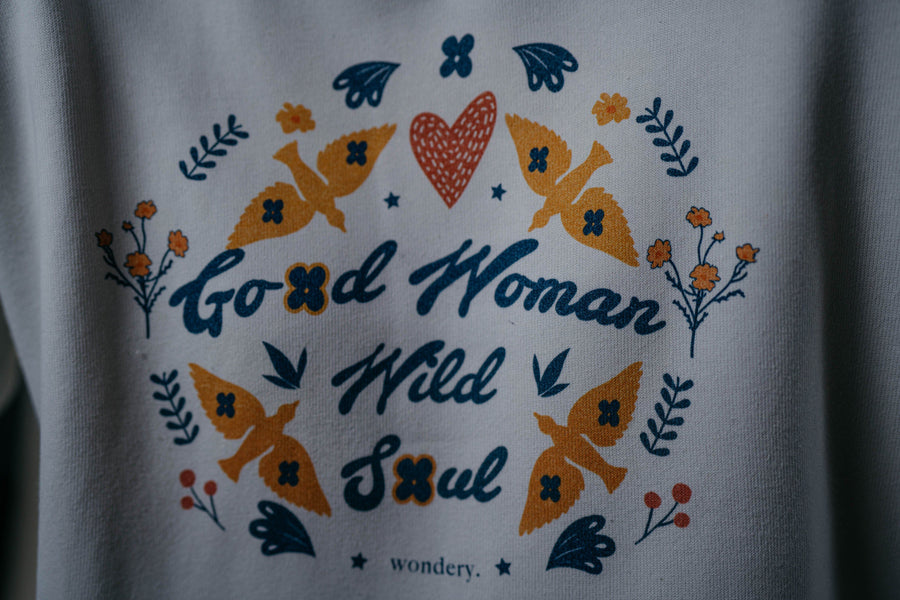 Good Woman Wild Soul Crewneck - Wondery