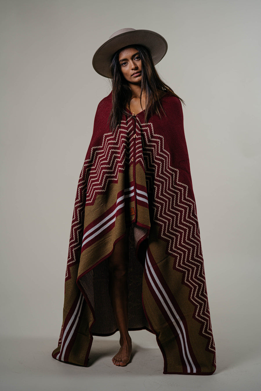 Explorers Wraparound Blanket // Coastal Sunset Edition - Wondery, A Parks Apparel Brand