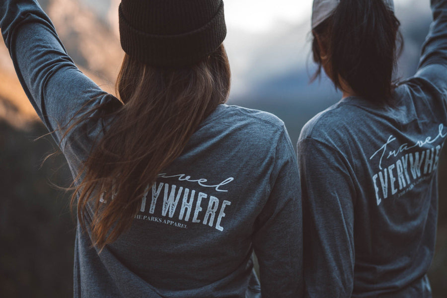 Travel Everywhere Long Sleeve - Wondery, A Parks Apparel Brand