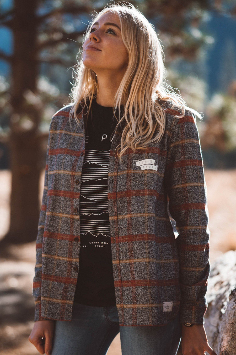 Limited Run Rainier Cabin Fever Flannel Winter 18 - Wondery, A Parks Apparel Brand